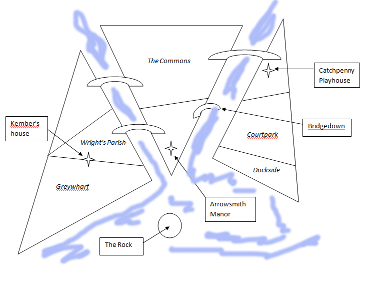 Crosswater map